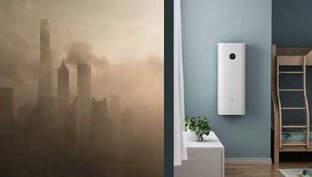 Xiaomi представила потужний очищувач повітря Mi Air Purifier