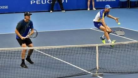 Українець Молчанов зіграє у фіналі парного турніру в Словаччині
