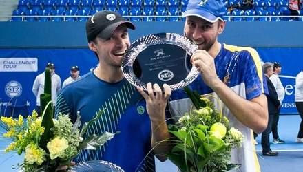 Денис Молчанов виграв парний титул на тенісному турнірі в Словаччині
