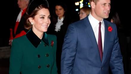 Меган Маркл, Кейт Міддлтон і британські принци відвідали службу у Вестмінстерському абатстві