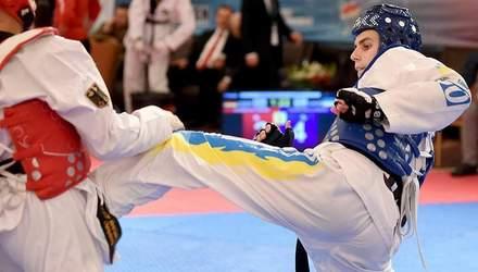 Українці вибороли три нагороди на чемпіонаті Європи з тхеквондо