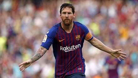 Мессі ще на крок наблизився до найкращого бомбардира  в історії за кількістю голів за один клуб