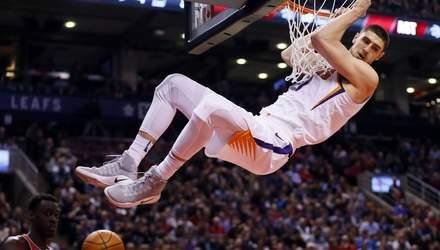 """Атланта"" українця Леня вкотре поступилася у матчі НБА"