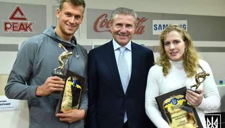 Найкращі спортсмени місяця отримали нагороди від НОК України