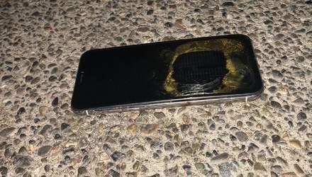 iPhone X загорелся при обновлении до iOS 12.1