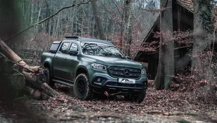 Немецкие механики модернизировали пикап Mercedes-Benz X-Class под нужды охотника:эффектные кадры