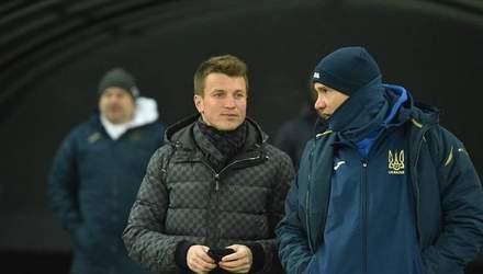 Руслан Ротань відвідав збірну України напередодні матчу Ліги націй: відео