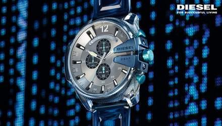 Diesel спільно з дворазовим номінантом на Греммі представляють нову колекцію годинників