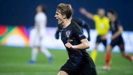 Хорватія феєрично обіграла Іспанію у Лізі націй: відео голів