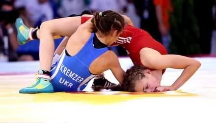Сборная Украины завоевала первую медаль на женском чемпионате мира по борьбе: видео