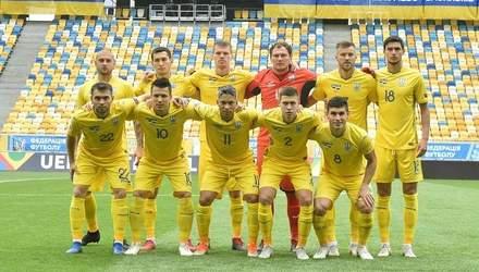 Збірна України розгромно поступилася Словаччині у матчі Ліги націй