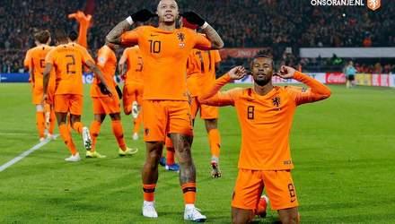 Нідерланди – Франція: відеоогляд матчу Ліги націй