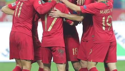 Італія – Португалія: прогноз букмекерів на матч Ліги націй