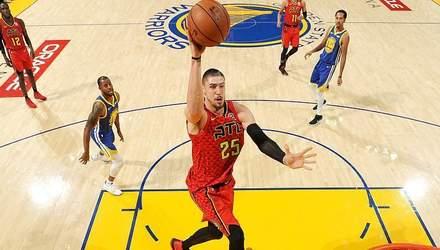 Данк українця Леня потрапив у топ-5 найкращих моментів дня в НБА: відео