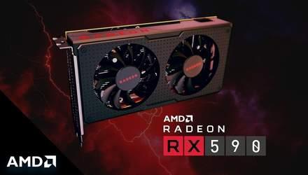 "AMD представила бюджетного ""игрового монстра"" – видеокарту Radeon RX 590"