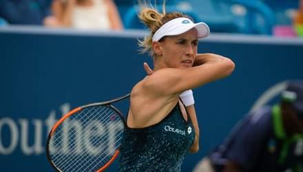 Цуренко визнана однією з найкращих тенісисток сезону по грі на прийомі