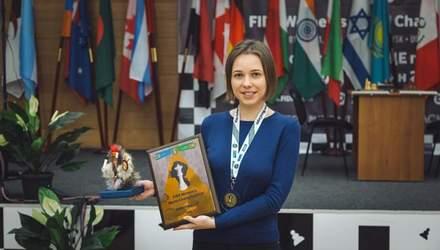 Мария Музычук завоевала бронзовую медаль на чемпионате мира по шахматам