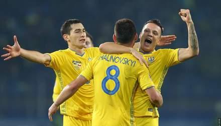 Гравці збірної України зачитали вірш українською мовою: відео
