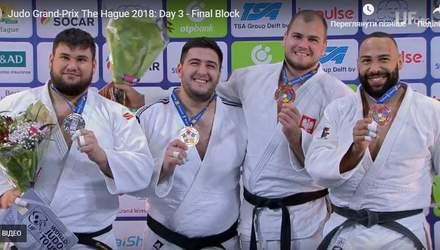 Український дзюдоїст виборов золоту нагороду на гран-прі в Гаазі