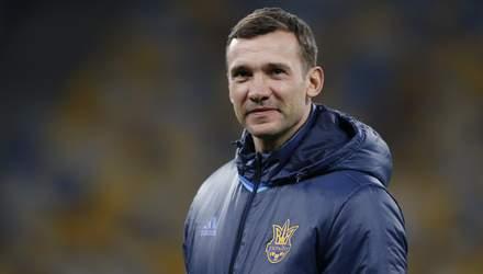 Андрій Шевченко вийшов на четверте місце у рейтингу тренерів збірної України