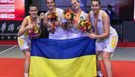 Баскетбольна збірна України виборола срібло на Всесвітній університетській лізі 3х3