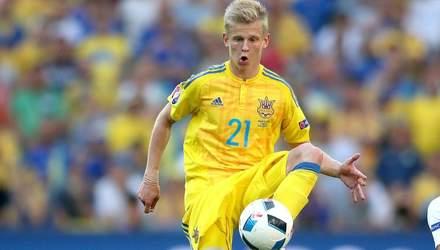 Жоден воротар збірної України не зміг впоратися з ударами Зінченка: відео