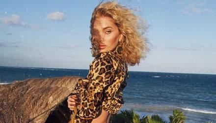 Спокуслива тигриця: Ельза Госк показала пишні сідниці – пікантні фото