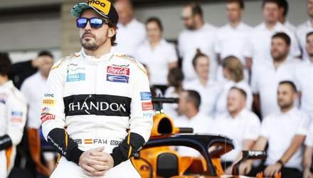 Фернандо Алонсо останню гонку Формули-1 проведе у спеціальному боліді: фото