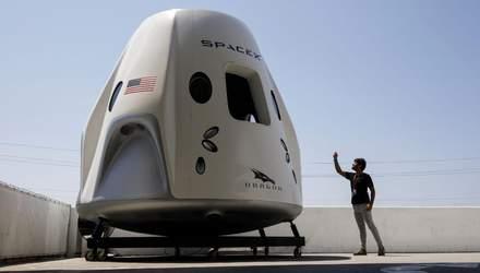 В NASA назвали дату останнього тестового запуску капсули SpaceX Crew Dragon