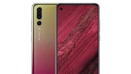 "Абсолютно безрамковий смартфон Huawei nova 4 ""засвітився"" на фото"
