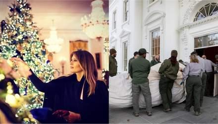 Очікування – реальність: як насправді прикрашався Білий дім до свят