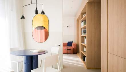 Компактність і простір під одним дахом: раціональний дизайн однокімнатки в Одесі