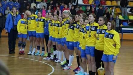 Українські гандболістки програли стратегічно важливу гру