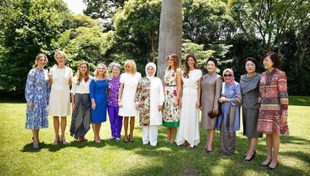 Меланія Трамп, Бріджит Макрон та інші перші леді відвідали Аргентину: яскраві фото