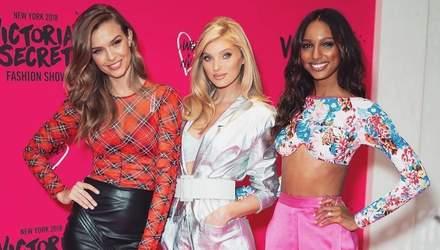 Ангельские будни: Эльза Хоск, Жозефин Скривер и Жасмин Тукс на мероприятии Victoria's Secret