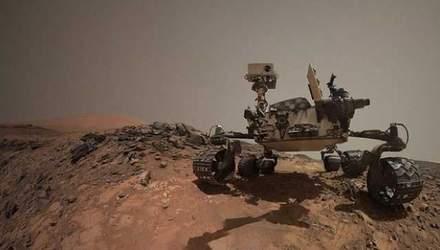 Марсохід виявив загадковий блискучий об'єкт на планеті