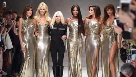 Ірина Шейк, Джіджі Хадід, Кім Кардашян та інші зірки відвідали масштабне шоу Versace: фото