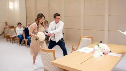 Официально: Регина Тодоренко вышла замуж на 9 месяце беременности