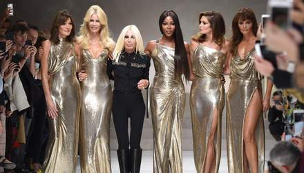 Ирина Шейк, Джиджи Хадид, Ким Кардашян и другие звезды посетили масштабное шоу Versace: фото
