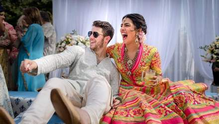 У бірюзовому сарі: з'явилися перші фото після весілля Пріянки Чопри і Ніка Джонаса