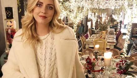 Total look: как носить белую одежду зимой на примере Кьяры Ферраньи