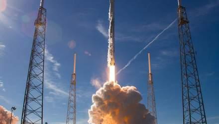SpaceX встановила рекорд: перший ступінь Falcon 9 запустили в космос втретє