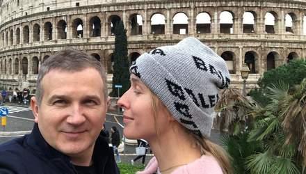 Римские каникулы Кати Осадчей и Юрия Горбунова: пара поделилась трогательными фото