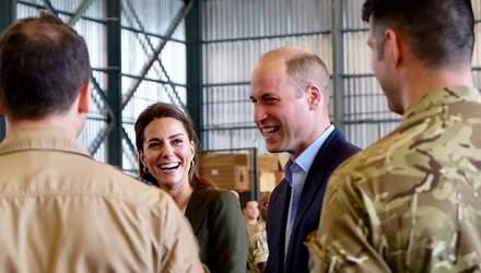 Принц Вільям публічно пожартував з Кейт Міддлтон: кумедні деталі