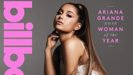 """Женщина года 2018"" Ариана Гранде перед церемонией Billboard снялась в гламурном фотосете"