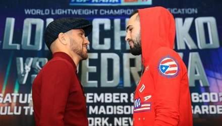 Ломаченка не цікавить Педраса, а лише його чемпіонський пояс: анонс боксерського поєдинку