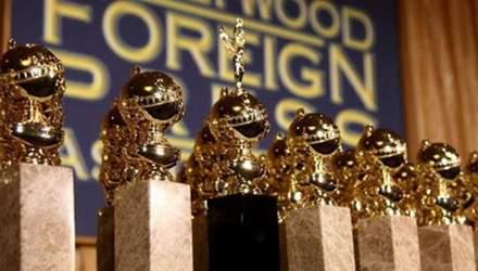 """""""Золотий глобус 2019"""": названо номінантів на престижну премію"""