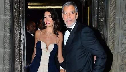 Особливий вихід: Амаль та Джордж Клуні вперше за довгий час з'явились на публіці