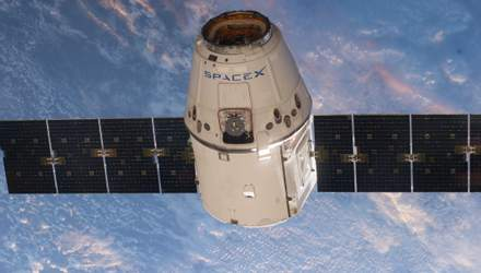 З другої спроби SpaseX Dragon під'єднався до МКС