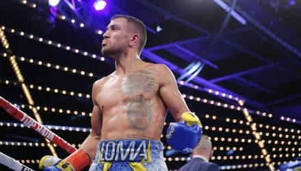 Ломаченко суттєво покращив позицію у рейтингу найкращих боксерів світу